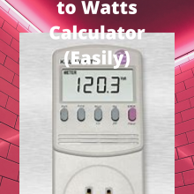 Converting BTU to Watts Calculator