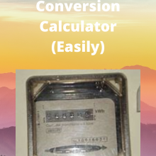 Watts to Joules Conversion Calculato